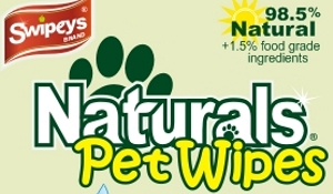 Naturals Pet Wipes